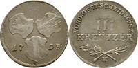 III Kreuzer 1793 RDR Günzburg Burgau Franz II./I., 1792-1835 ss  70,00 EUR  zzgl. 3,00 EUR Versand