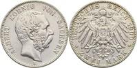 2 Mark 1900 Sachsen Albert, 1873-1902 kl. Kratzer, ss  55,00 EUR  zzgl. 3,00 EUR Versand