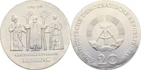 20 Mark 1979 DDR Berlin Gotthold Ephraim Lessing Kontaktmarken, prfr  50,00 EUR  zzgl. 3,00 EUR Versand