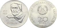 20 Mark 1982 DDR Berlin Clara Zetkin Kontaktmarken, prfr  50,00 EUR  zzgl. 3,00 EUR Versand