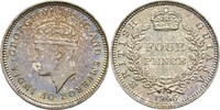 Four Pence 1945 BRITISH GUIANA AND WEST INDIES George VI., 1936-1952 fa... 120,00 EUR  zzgl. 3,00 EUR Versand