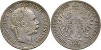 Gulden Florin 1882 Austria Habsburg Wien Franz Joseph, 1848-1916 vz  25,00 EUR  zzgl. 3,00 EUR Versand