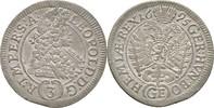 3 Kreuzer 1695 RDR Böhmen Prag Leopold I., 1657 - 1705. vorzüglich  85,00 EUR  zzgl. 3,00 EUR Versand