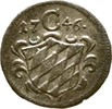 Einseitiger Pfennig 1746 Bayern München Maximilian III. Joseph, 1745-17... 35,00 EUR  zzgl. 3,00 EUR Versand