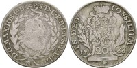 20 Kreuzer 1766 Bayern Amberg Maximilian III. Joseph, 1745-1777 f.ss/ss  20,00 EUR  zzgl. 3,00 EUR Versand