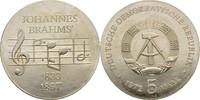 5 Mark 1972 DDR Berlin Johannes Brahms kl. Verschmutzungen, prfr  10,00 EUR  zzgl. 3,00 EUR Versand