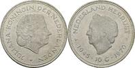 10 Gulden 1970 Niederlande Juliana, 1948-80 vz+ kl. Kratzer  15,00 EUR  zzgl. 3,00 EUR Versand