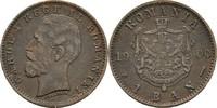1 Ban 1900 B Rumänien Karl I., 1866-1914 ss+, Kratzer  15,00 EUR  zzgl. 3,00 EUR Versand