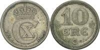 10 Öre 1916 VBPGJ Dänemark Christian X., 1912-44 ss  7,00 EUR  zzgl. 3,00 EUR Versand