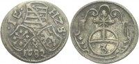 Dreier 1682 Sachsen Weimar Johann Ernst, 1662-1683. ss  50,00 EUR  zzgl. 3,00 EUR Versand