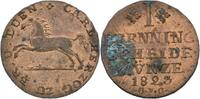 Pfennig 1823 Braunschweig Wolfenbüttel Karl II., 1815 - 1830 fleckig, s... 50,00 EUR  zzgl. 3,00 EUR Versand