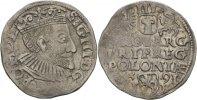 Dreigröscher 1591 Polen Posen Sigismund III., 1587-1632 ss  50,00 EUR  zzgl. 3,00 EUR Versand