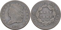 1/2 Cent 1826 USA  s-ss  70,00 EUR  zzgl. 3,00 EUR Versand