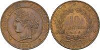 10 Centimes 1892 Frankreich Paris  fast Stempelglanz  75,00 EUR  zzgl. 3,00 EUR Versand