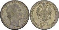 1/4 Gulden  1860 Austria Ungarn Kremnitz Franz Joseph, 1848-1916. vz  35,00 EUR  zzgl. 3,00 EUR Versand