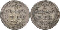 Kreuzer 1784 Frankfurt  ss  35,00 EUR  zzgl. 3,00 EUR Versand