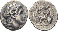 Thrakien Tetradrachme Lysimachos, 305 - 281 v. Chr
