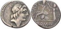 Denar 96-92 RÖMISCHE REPUBLIK C. Publicius Malleolus, A. Postumius Albi... 75,00 EUR  zzgl. 3,00 EUR Versand