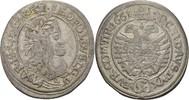 XV Kreuzer 1661 RDR Austria Wien Leopold I., 1657-1705. ss  55,00 EUR  zzgl. 3,00 EUR Versand