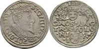 Dreigröscher Trojak 1596 Polen Posen Sigismund III., 1587-1632. ss  85,00 EUR  zzgl. 3,00 EUR Versand