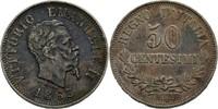 50 Centesimi 1863 M Italien Viktor Emanuel II., 1861-1878. vz  50,00 EUR  zzgl. 3,00 EUR Versand