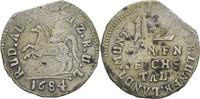 1/12 Taler 1684 Braunschweig Wolfenbüttel Rudolf August, 1666-1685 Zain... 70,00 EUR  zzgl. 3,00 EUR Versand