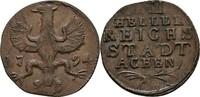 XII Heller 1794 Aachen  Prägeschwächen, vz  50,00 EUR  zzgl. 3,00 EUR Versand