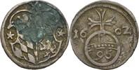 Dreier 1602 Hildesheim, Bistum Ernst von Bayern, 1573-1612 fleckig, ss  40,00 EUR  zzgl. 3,00 EUR Versand