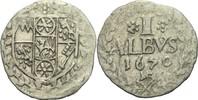 Albus 1670 Mainz Johann Philipp von Schönborn, 1647-1673 ss  30,00 EUR  zzgl. 3,00 EUR Versand
