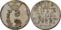 8 Gute Groschen 1759 Braunschweig Wolfenbüttel Karl I., 1735-1780 ss/vz  90,00 EUR  zzgl. 3,00 EUR Versand