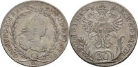 20 Kreuzer 1782 RDR Böhmen Prag Joseph II., 1780-1790 ss  75,00 EUR  zzgl. 3,00 EUR Versand