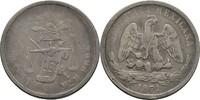50 Centavos 1871 Mexico  ss  40,00 EUR  zzgl. 3,00 EUR Versand