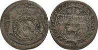 Kreuzer 1736 Baden Durlach Karl Wilhelm, 1709-1738 f.ss  25,00 EUR  zzgl. 3,00 EUR Versand