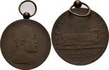 Tragbare Bronzemedaille 1903 Äthiopien Menelik II. 1889-1913 vz  100,00 EUR
