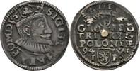 Dreigröscher 1594 Polen Posen Poznan Sigismund III., 1587-1632. Lötspur... 20,00 EUR