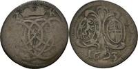 Brandenburg Ansbach 2 Kreuzer 1693 f.ss/ss Georg Friedrich, 1692-1703 15,00 EUR  zzgl. 3,00 EUR Versand