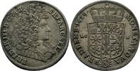 Brandenburg Preussen Berlin 2/3 Taler (Gulden) 1689 vz Friedrich III., 1... 200,00 EUR kostenloser Versand