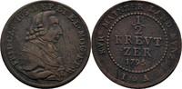 Mainz, Erzbistum 1/2 Kreuzer 1795 Schrötlingsfehler, ss Friedrich Karl J... 15,00 EUR  zzgl. 3,00 EUR Versand