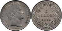 Bayern München 1/2 Gulden 1845 vz Ludwig I., 1825-1848 60,00 EUR  zzgl. 3,00 EUR Versand