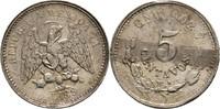 5 Centavos 1889 Mexico  Kratzer, sonst fast Stempelglanz  20,00 EUR