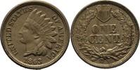 Cent Indianerkopf 1863 USA  vz  50,00 EUR