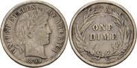 Dime 1899 USA  ss  15,00 EUR
