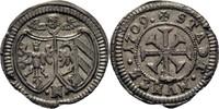 Kreuzer 1709 Nürnberg  vz+  85,00 EUR  zzgl. 3,00 EUR Versand