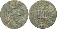 3 Pfennige o.J. 1640-1710 Lippe Detmold  Knickspur, fss  14,00 EUR  zzgl. 3,00 EUR Versand