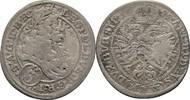 3 Kreuzer 1695 RDR Schlesien Breslau Leopold I., 1657-1705 f.ss  15,00 EUR  zzgl. 3,00 EUR Versand