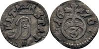 Dreier 1676 Braunschweig, Stadt  ss  25,00 EUR  zzgl. 3,00 EUR Versand