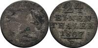 1/24 Taler 1807 Hessen Kassel Wilhelm I., 1803-1821 s/fss  7,00 EUR  zzgl. 3,00 EUR Versand