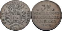 32 Schillinge 1809 Hamburg  ss  85,00 EUR  zzgl. 3,00 EUR Versand