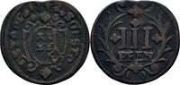 3 Pfennig 1742 Soest Stadt  ss  19,00 EUR  zzgl. 3,00 EUR Versand