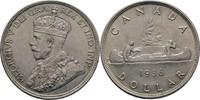 Dollar 1936 Canada George V., 1910-1936 ss+  45,00 EUR  zzgl. 3,00 EUR Versand